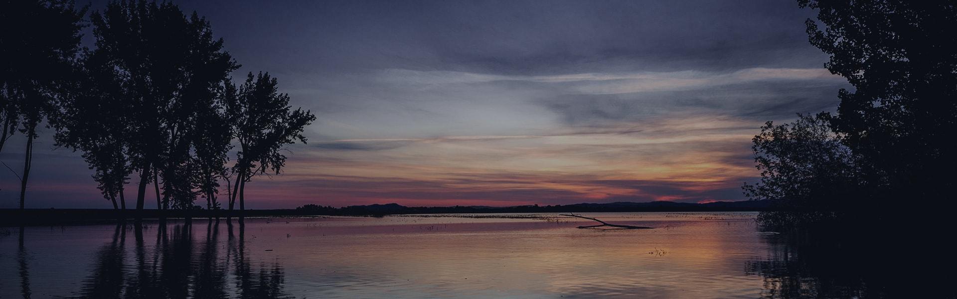 Image of lake near Nampa, ID 83651.