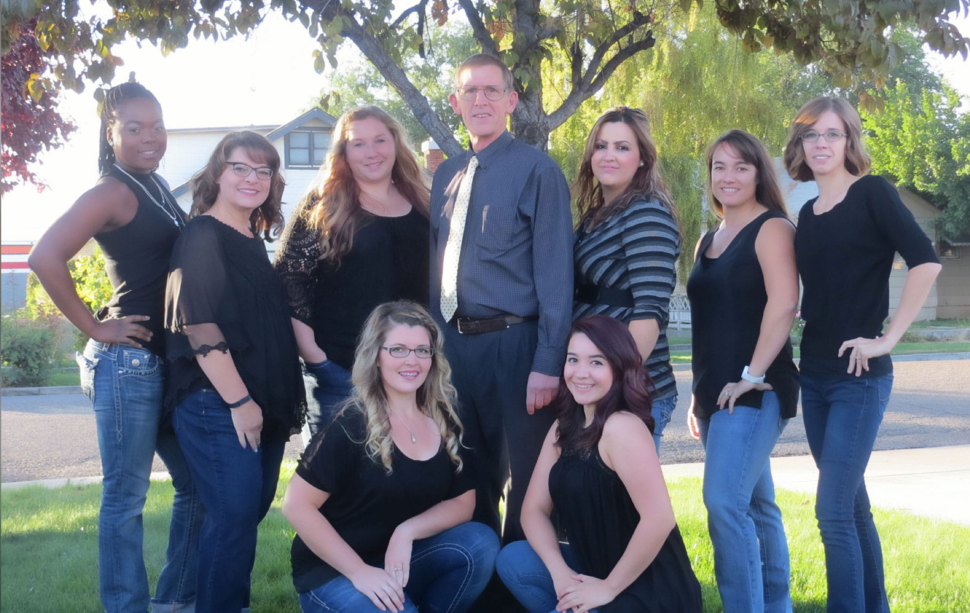 The team at Fisher Dentistry. They are here to help you with all your dental needs.
